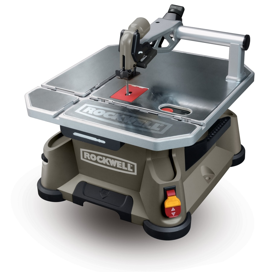 ROCKWELL BladeRunner 5.5-Amp 4-in Bi-Metal Table Saw