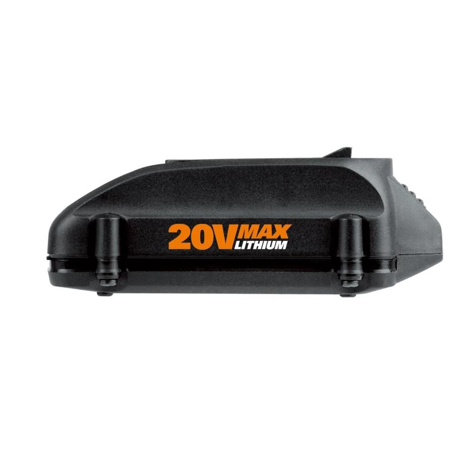 WORX 20-volt 1.5-Amp-Hours Rechargeable Lithium Cordless Power Equipment Battery