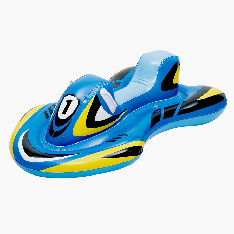 Blue Wave Blade Runner Blue Inflatable Ride-On