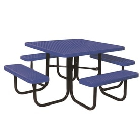 Ultra Play 46 In Steel Square Picnic Table