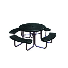 Shop Picnic Tables At Lowescom - White round picnic table