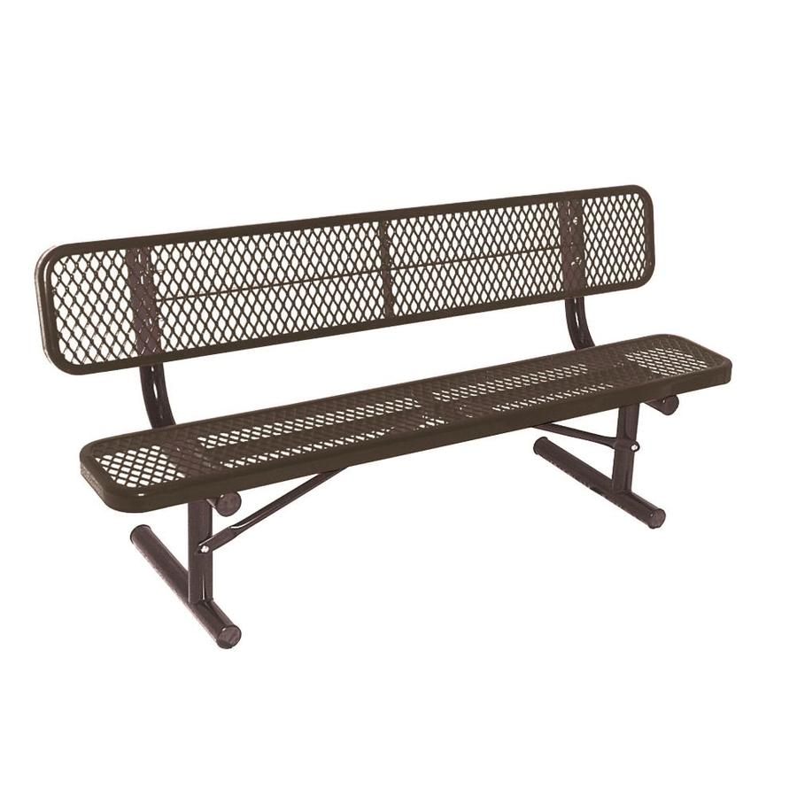 Ultra Play 72-in L Steel Park Bench At Lowes.com