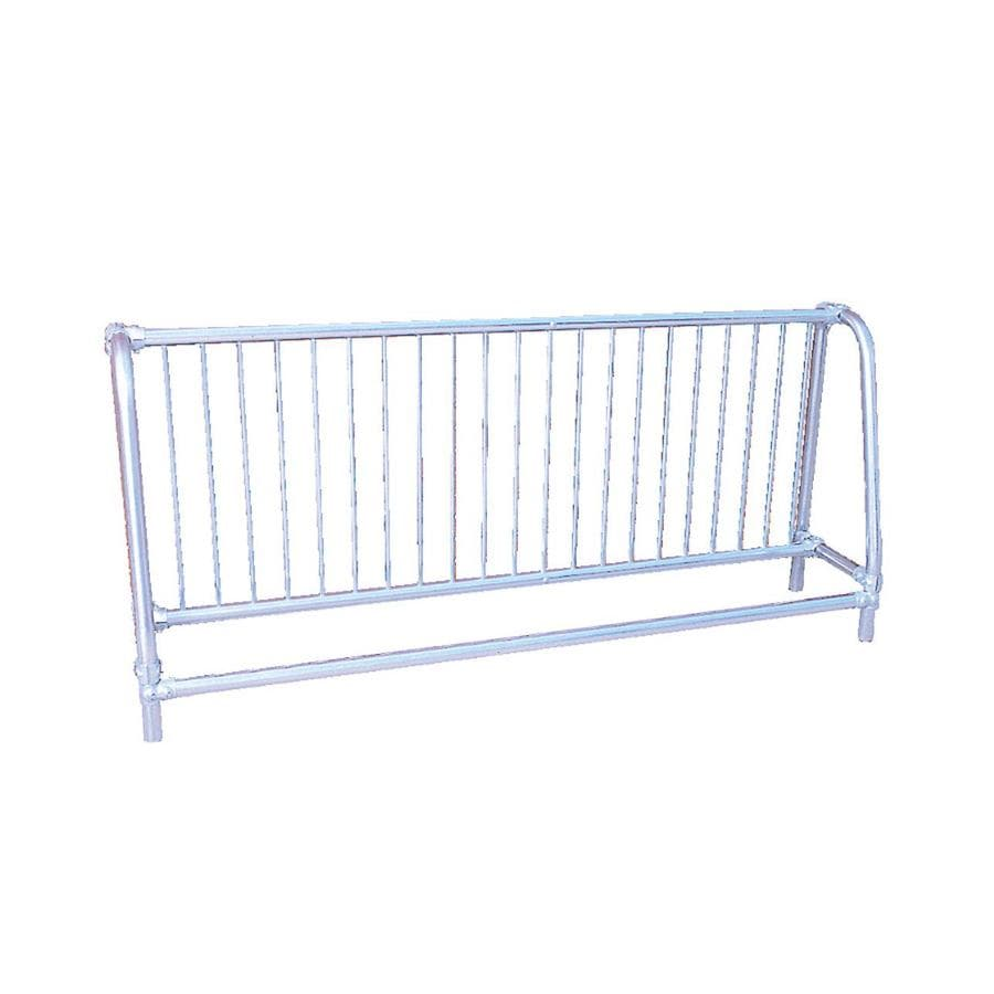 Ultra Play 10-ft L x 18-in D x 37-in H 10-Bike Galvanized Steel Bike Rack