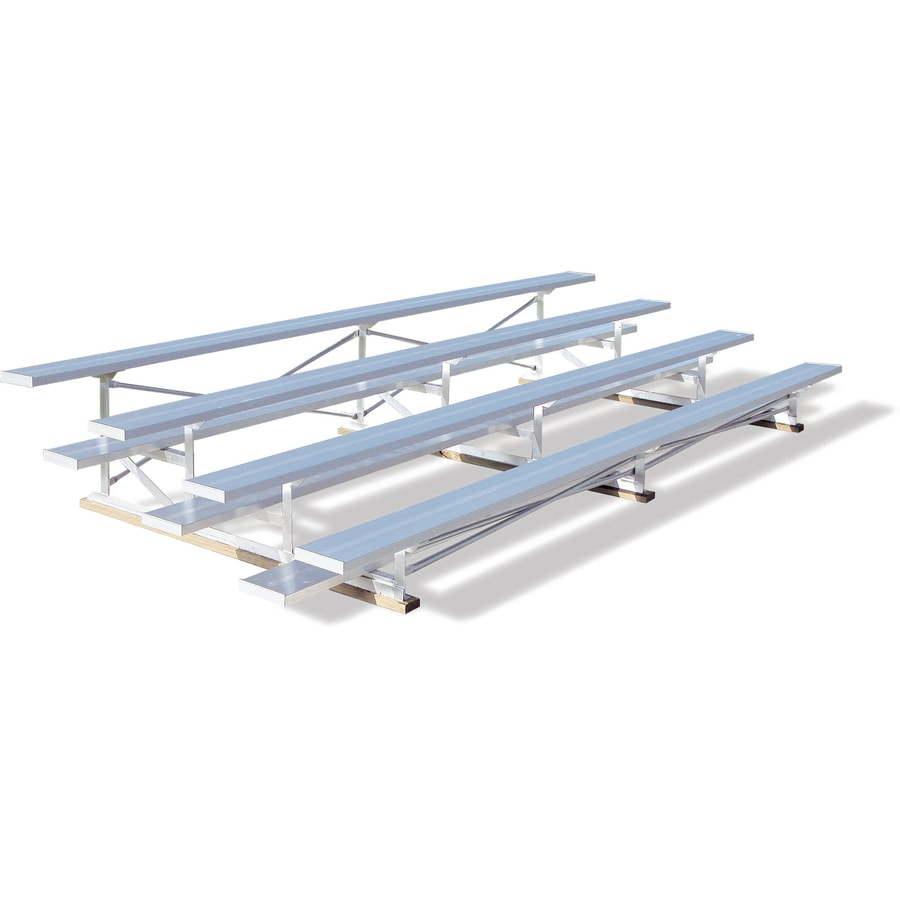 Ultra Play 180-in L Aluminum Portable Bleacher