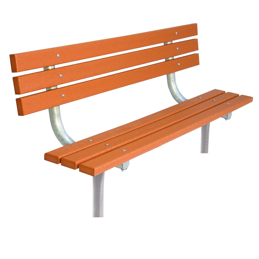 Shop Ultra Play 72 In L Recycled Plastic Park Bench At