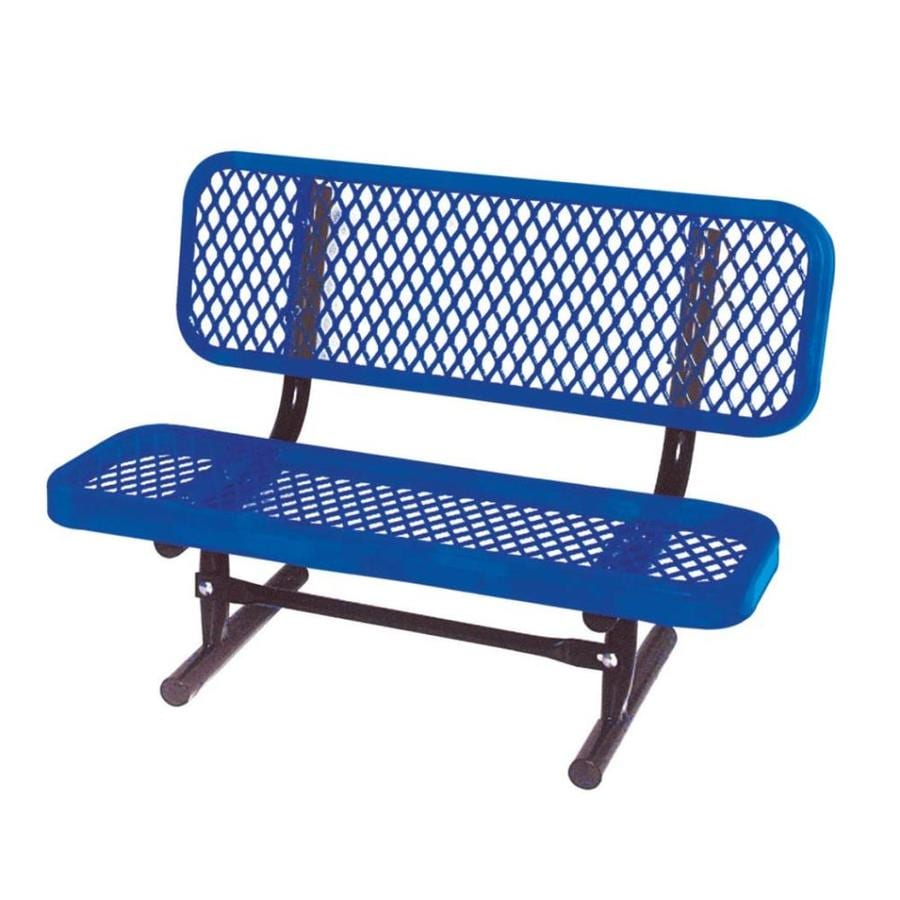 Ultra Play 36-in L Ultrasite Steel Bench