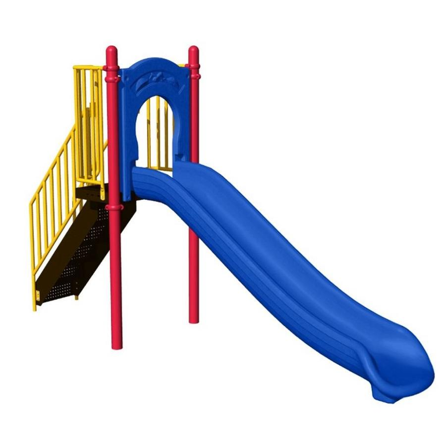 Ultra Play Multi-Color/Powder-Coated Steel Freestanding Slide