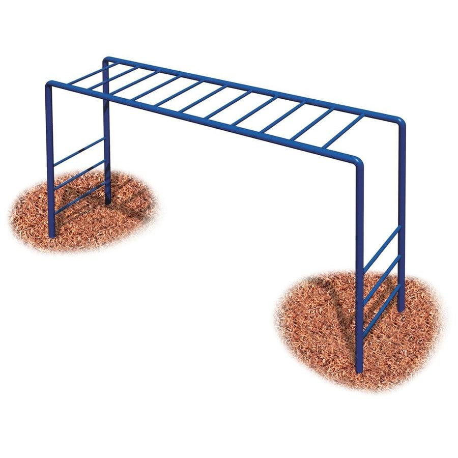 Ultra Play Blue/Powder-Coated Steel Horizontal Ladder