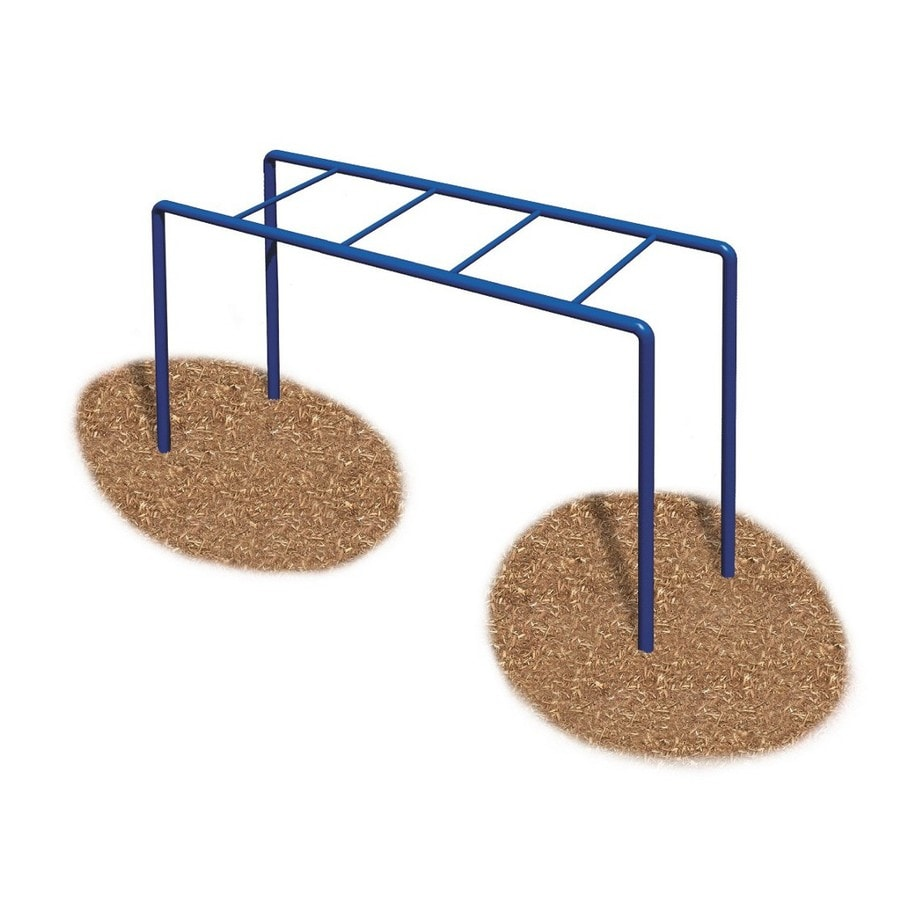 Ultra Play PLAY EQUIPMENT Blue/Powder-coated Steel Horizontal Ladder