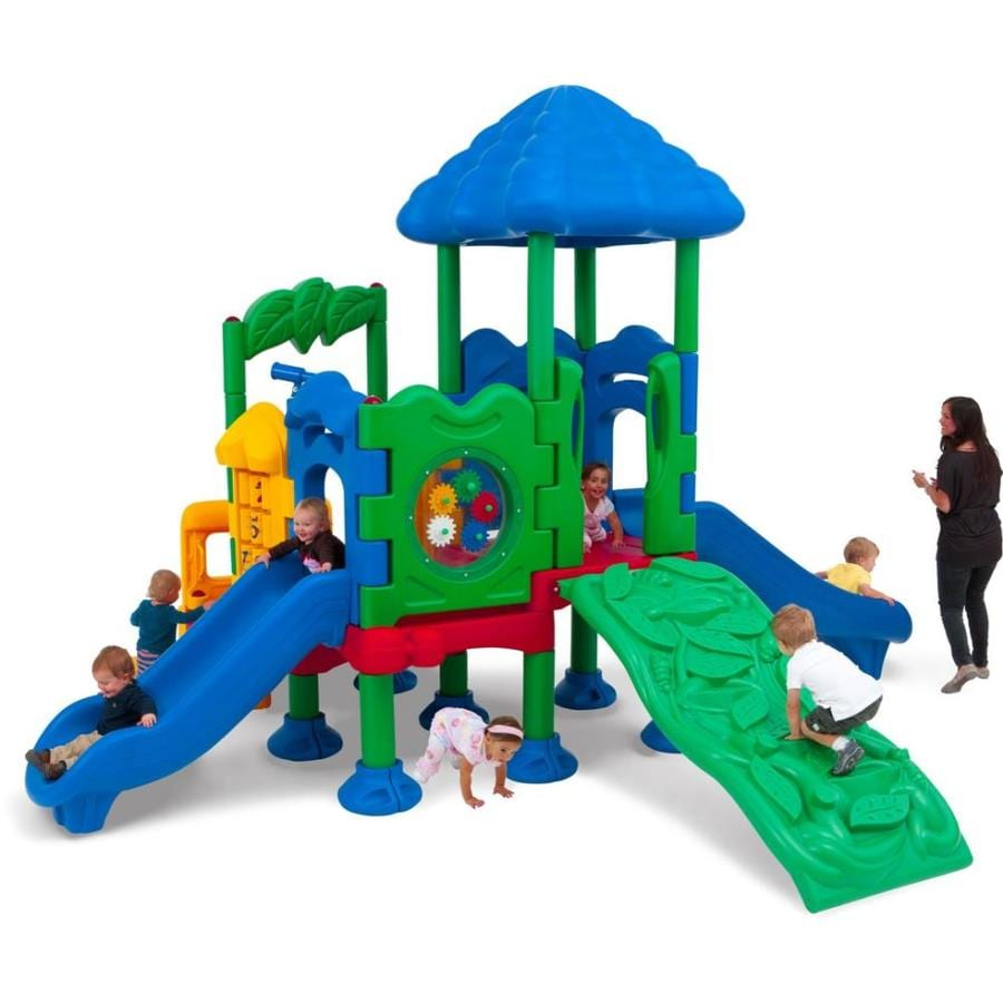Ultra Play Discovery Center 4 Commercial Playset At Lowes Com