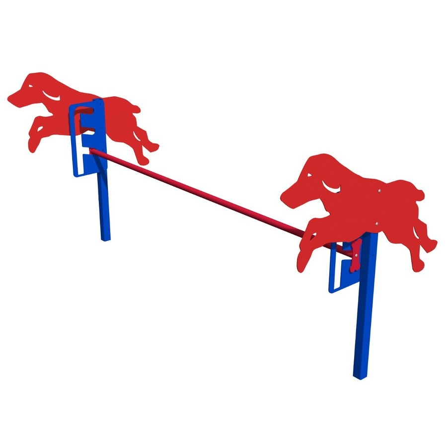 Ultra Play Blue and Red Dog Park Jump Gates