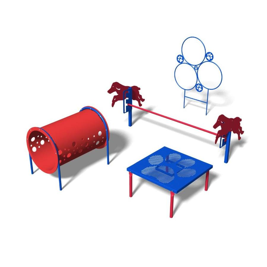 Ultra Play 4-Activity Novice Dog Park Agility Course Kit