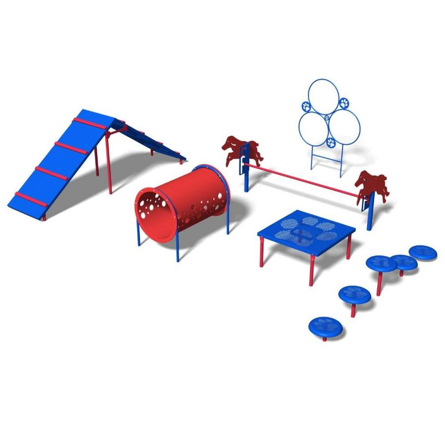 Ultra Play 6-Activity Intermediate Dog Park Agility Course Kit