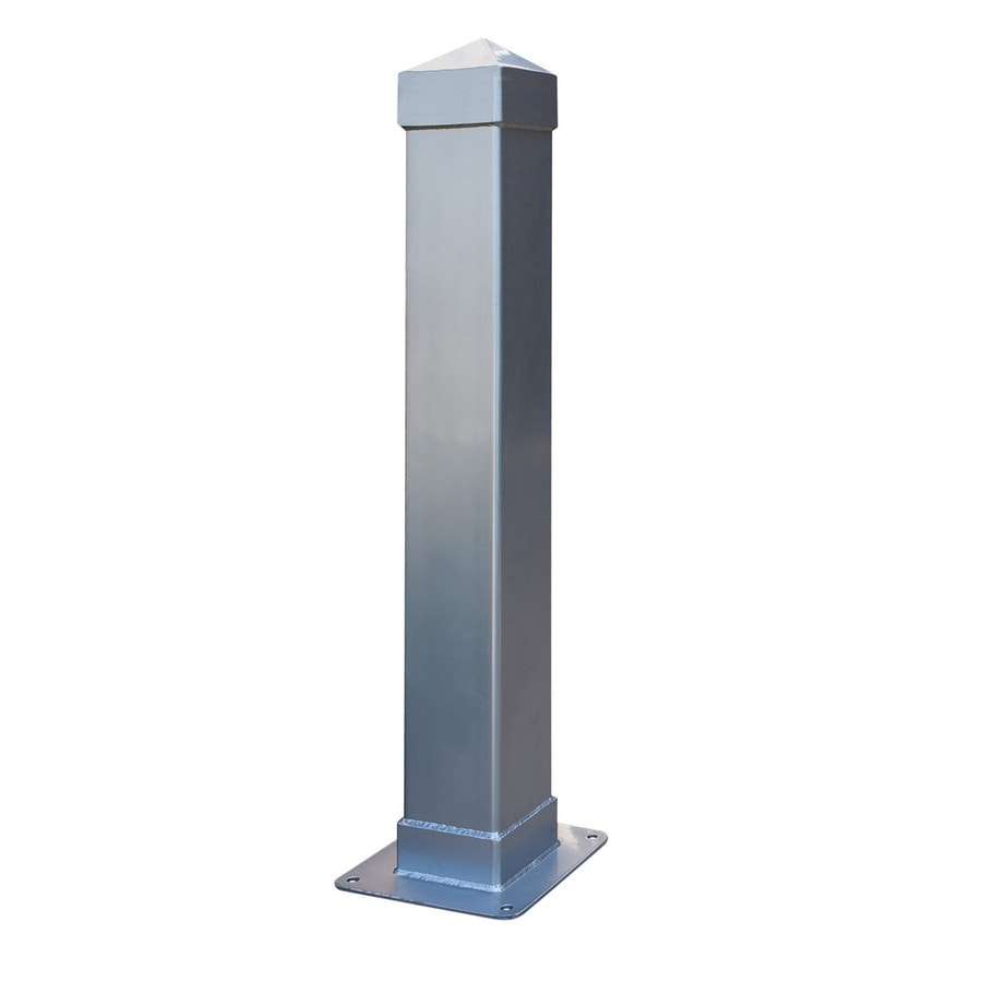 Ultra Play Dover 36-in Steel Surface-Mount Bollard