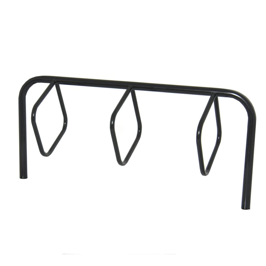 Ultra Play 39-in L x 3-in D x 36-in H 5-Bike Steel Bike Rack