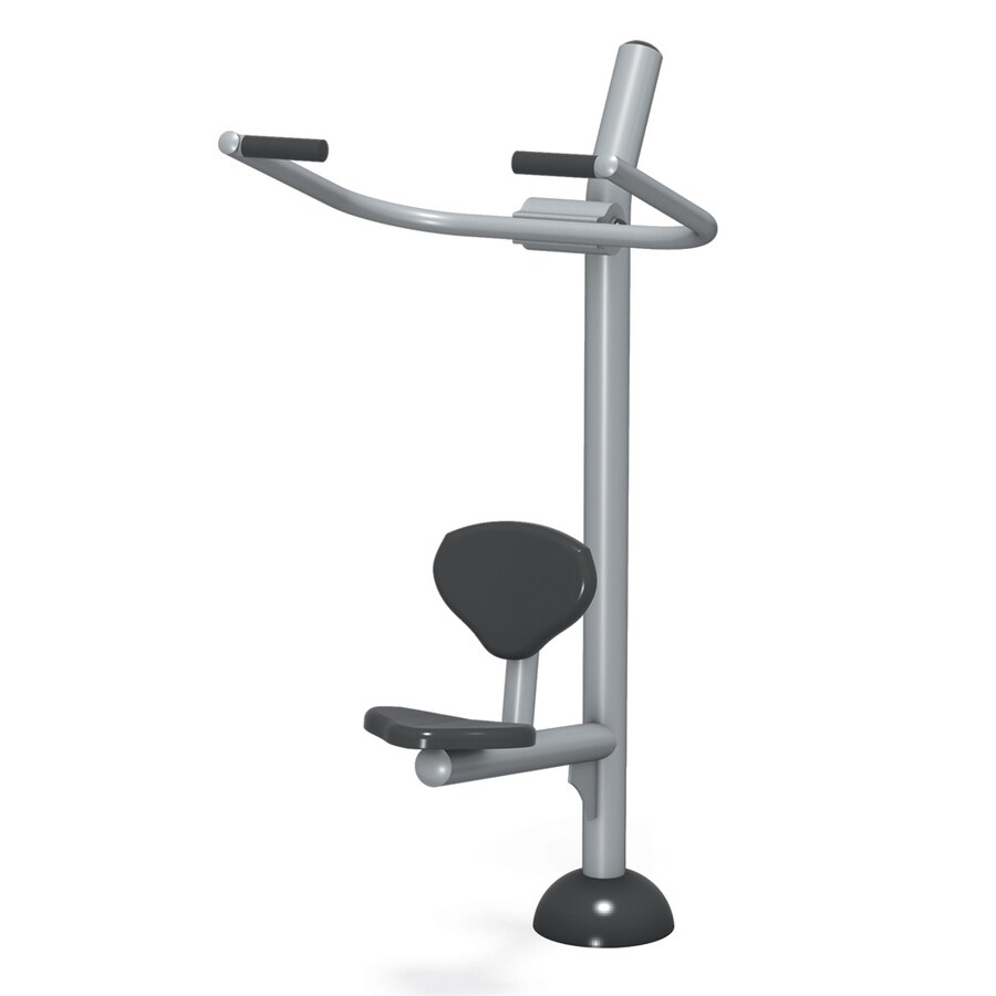 Ultra Play Fittech In-Ground Mount Body Weight-Resistant Lat Pull Down Machine