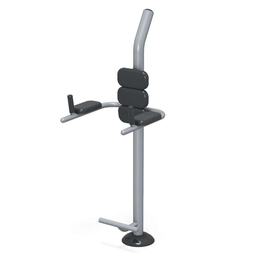 Ultra Play FitTech In-Ground Mount Body Weight-Resistant Manual Fitness Tower