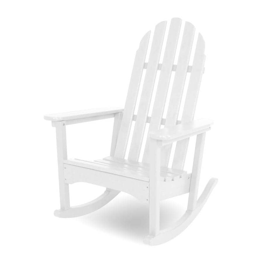polywood classic adirondack hdpe rocking chair with slat at. Black Bedroom Furniture Sets. Home Design Ideas