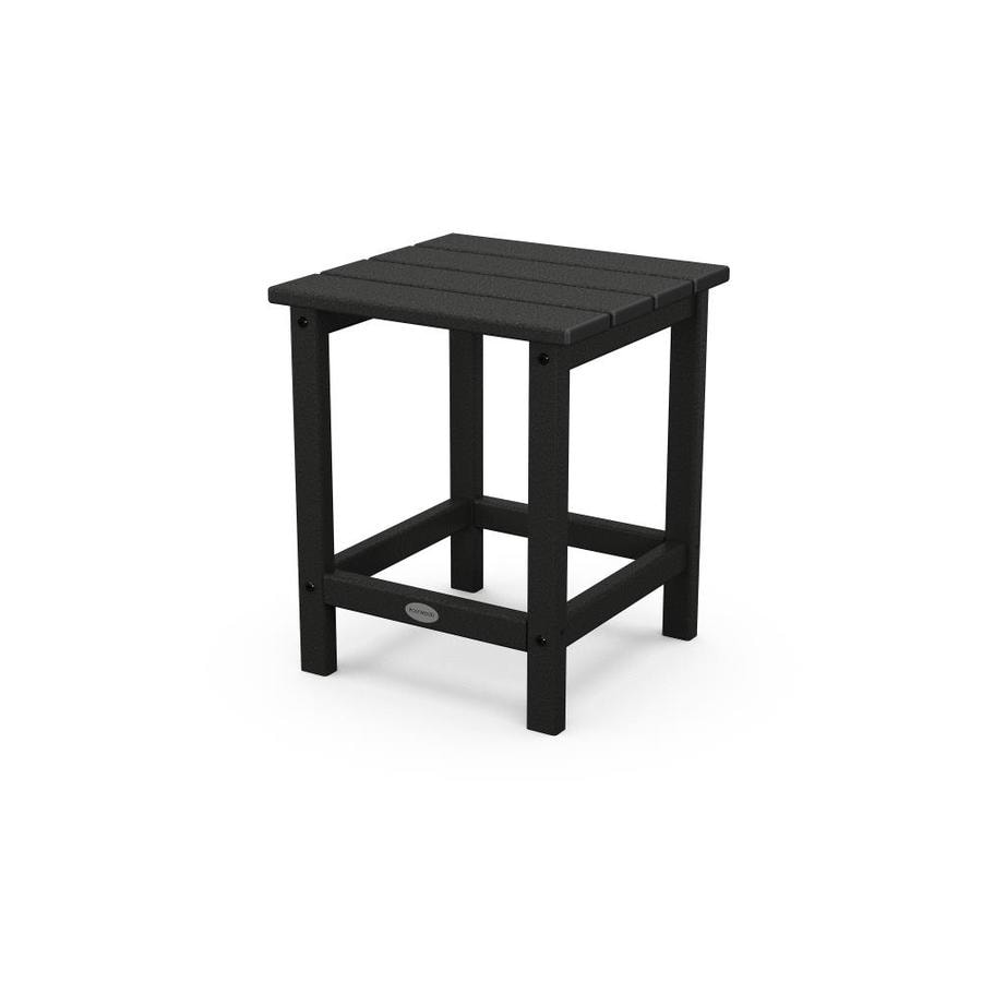 POLYWOOD Long Island Square End Table 15-in W X 19-in L At