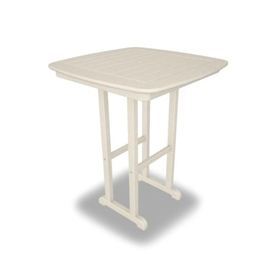 Remarkable Polywood Nautical Square Bar Height Table 31 In W X 31 In L Uwap Interior Chair Design Uwaporg