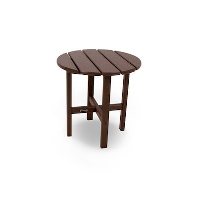 Stupendous Polywood Round End Table 15 In W X 15 In L At Lowes Com Gamerscity Chair Design For Home Gamerscityorg