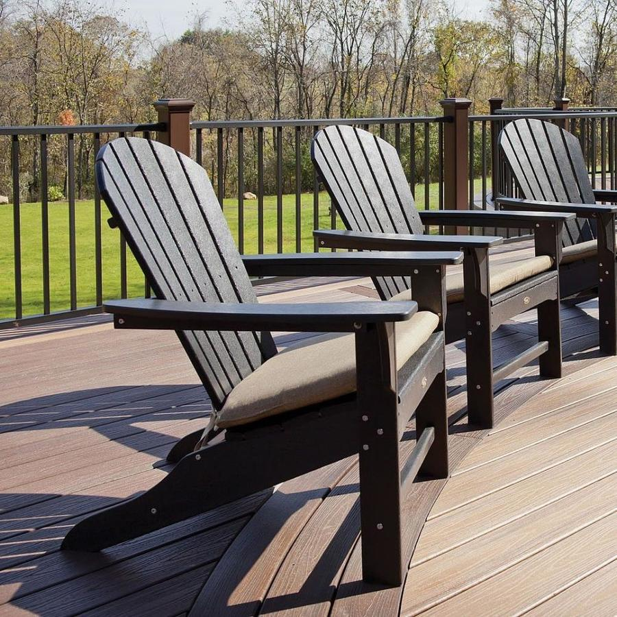 Shop Trex Outdoor Furniture Cape Cod Plastic Adirondack