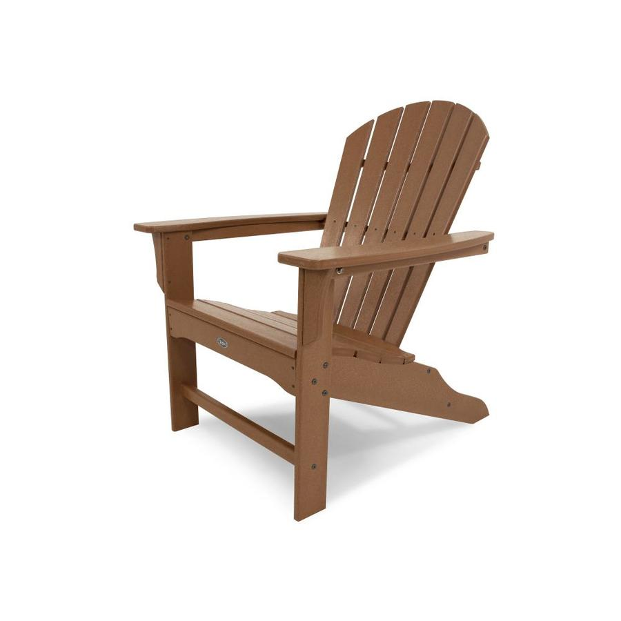 Trex Outdoor Furniture Cape Cod Tree House Plastic Patio Adirondack Chair