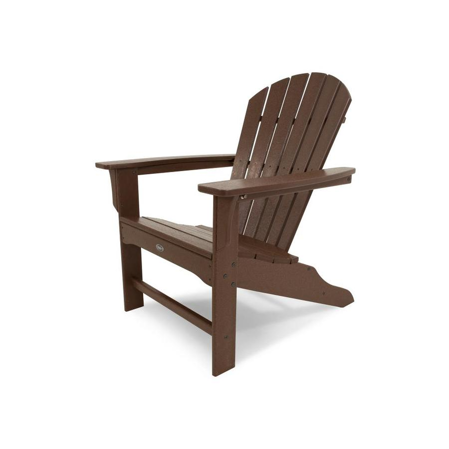Trex Outdoor Furniture Cape Cod Plastic Adirondack Chair with Slat Seat - Trex Outdoor Furniture Cape Cod Plastic Adirondack Chair With Slat
