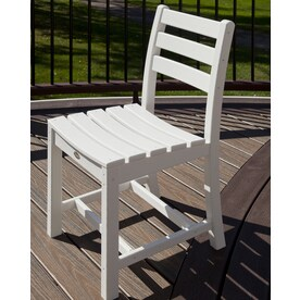 Trex Outdoor Furniture Monterey Bay Plastic Stationary Dining Chair(s) With  Slat Seat