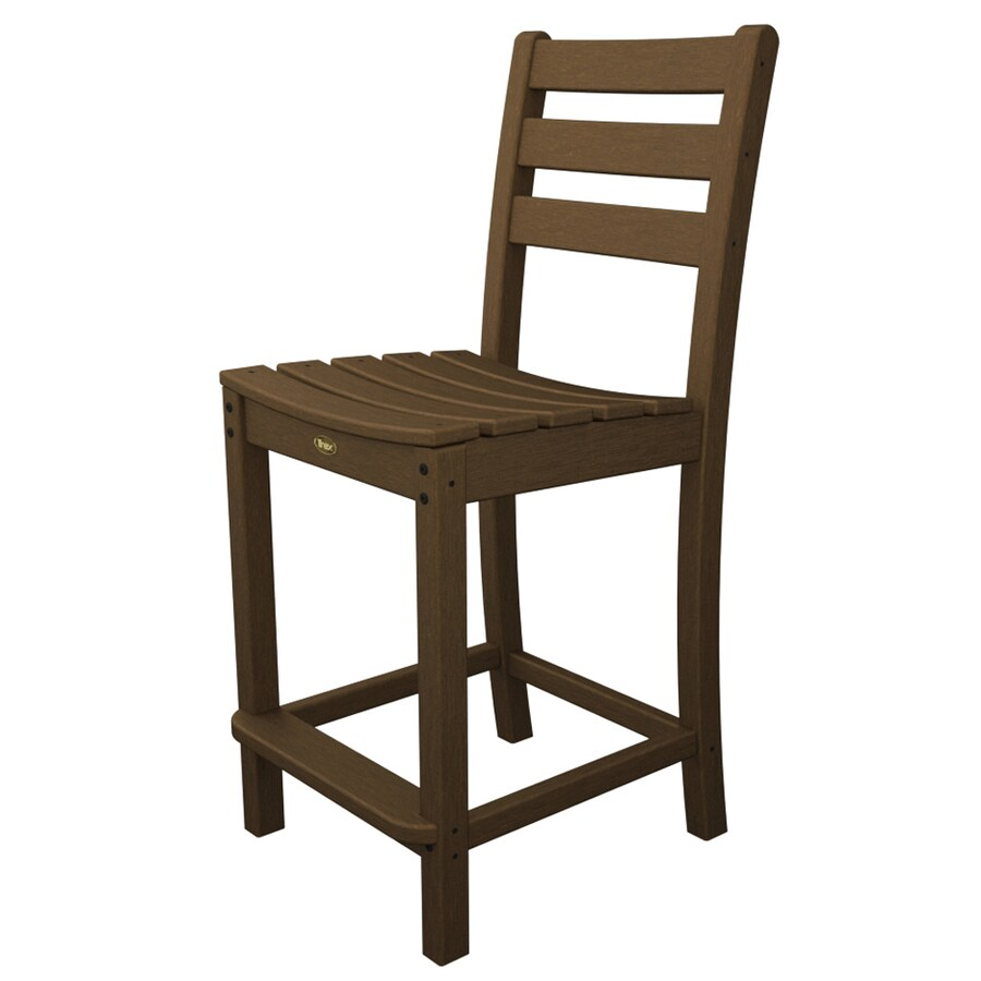 Trex Outdoor Furniture Monterey Bay Tree House Plastic Patio Dining Chair