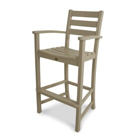 Charmant Trex Outdoor Furniture Monterey Bay Plastic Stationary Bar Stool Chair(s)  With Slat Seat