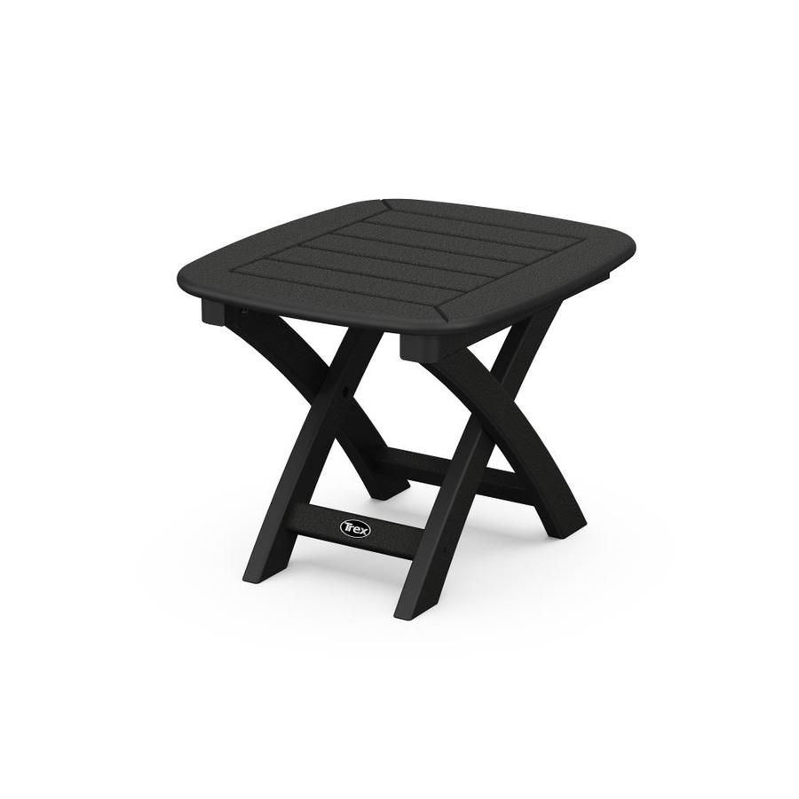 Trex Outdoor Furniture Yacht Club 21-in W x 18-in L Square Plastic End Table