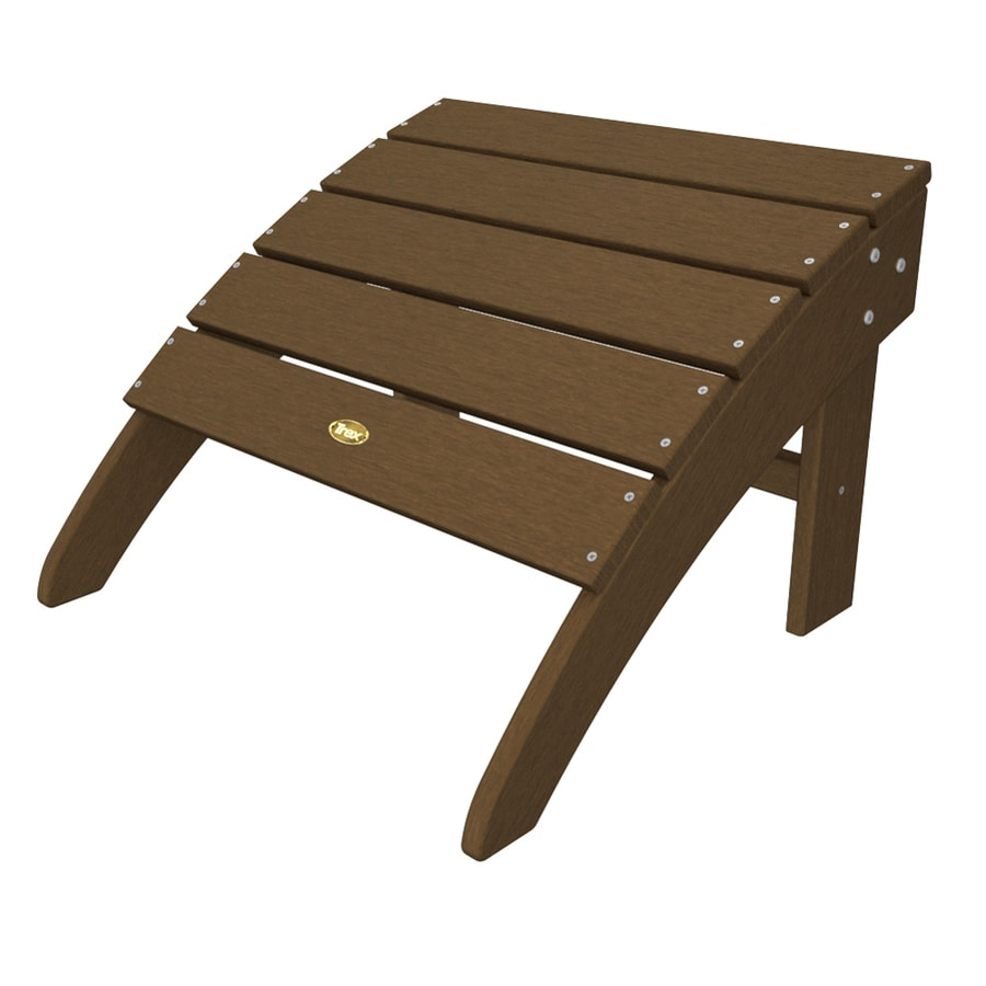 Trex Outdoor Furniture Plastic Ottoman