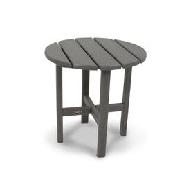Trex Outdoor Furniture Cape Cod 18 In W X 18 In L Round Plastic