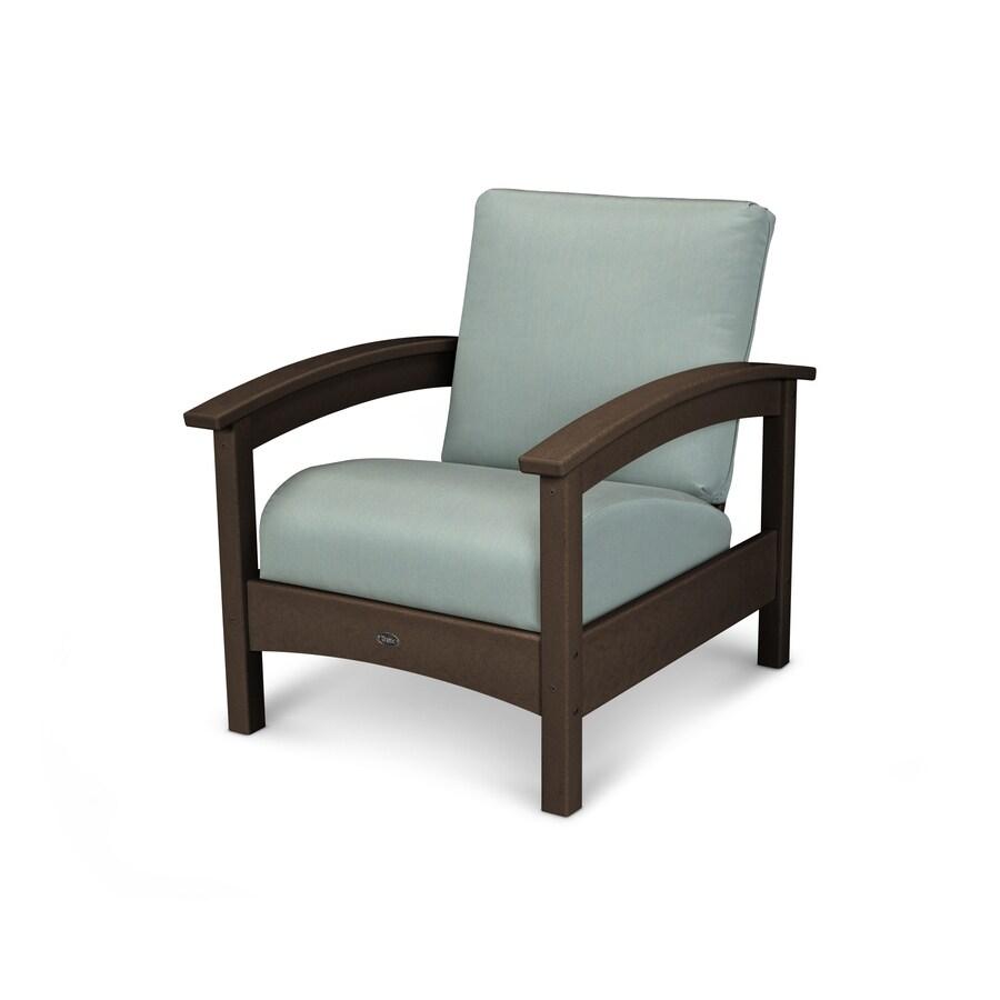 Trex Outdoor Furniture Rockport Vintage Lantern / Spa Plastic Patio Conversation Chair