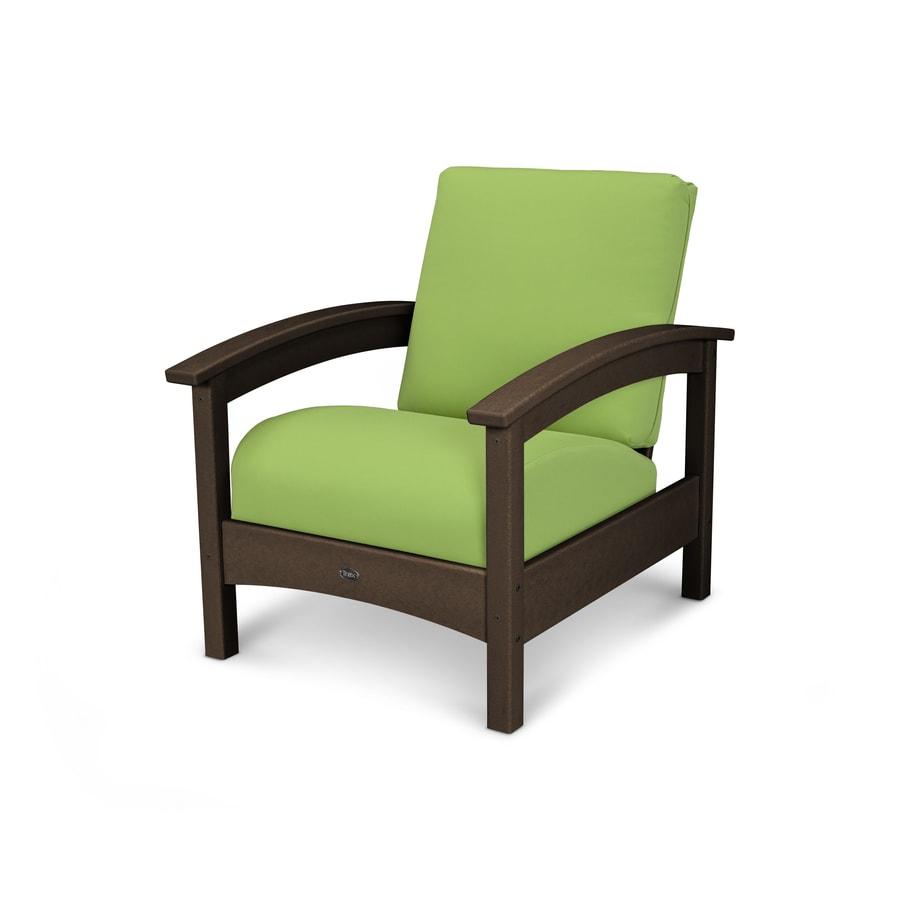 Trex Outdoor Furniture Rockport Vintage Lantern/Macaw Plastic Patio Conversation Chair