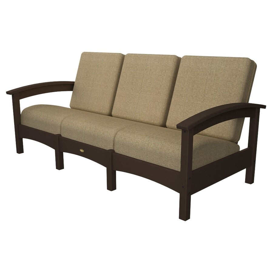 shop trex outdoor furniture rockport texture cushion