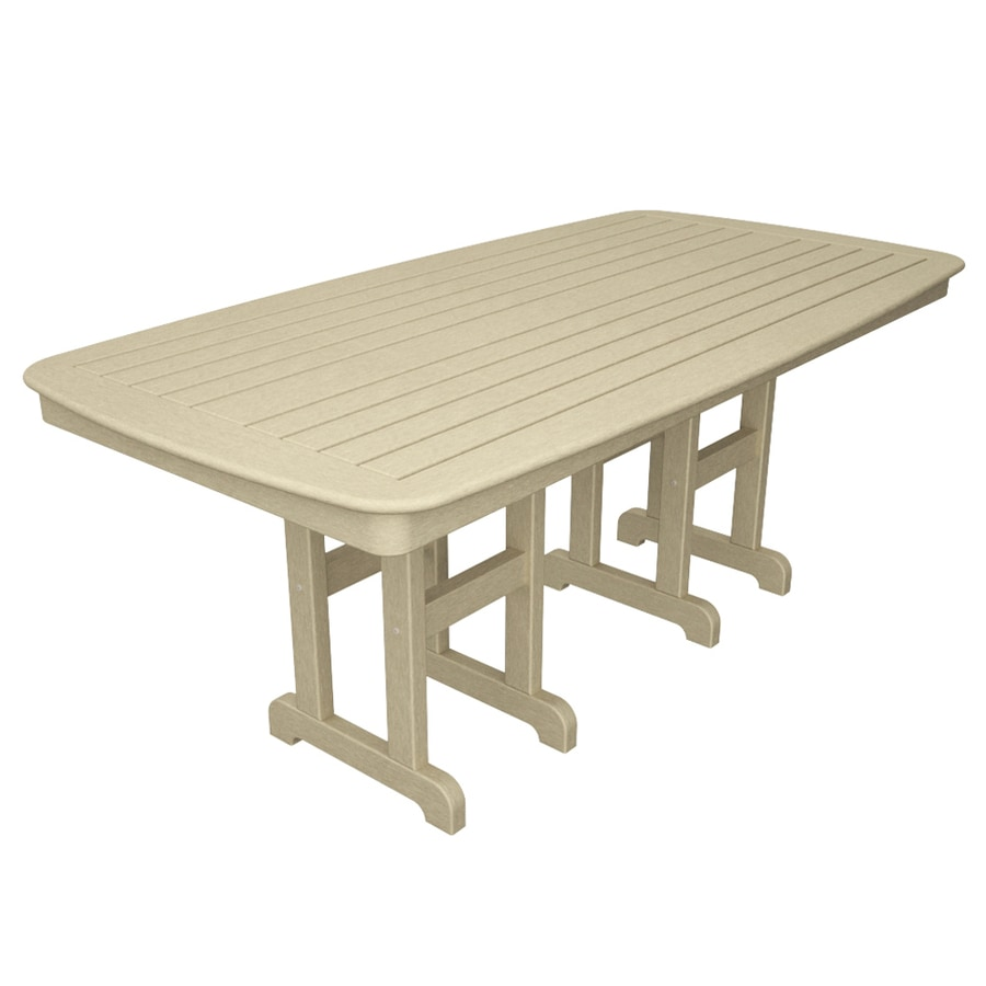 shop trex outdoor furniture yacht club 71 5 in w x