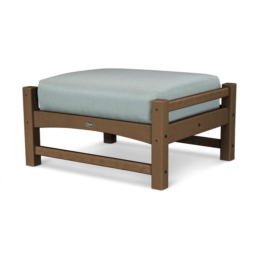 Trex Outdoor Furniture Rockport Tree House / Spa Plastic Ottoman