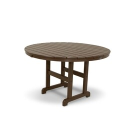 Trex Outdoor Furniture Monterey Bay Round Dining Table 48 In W X