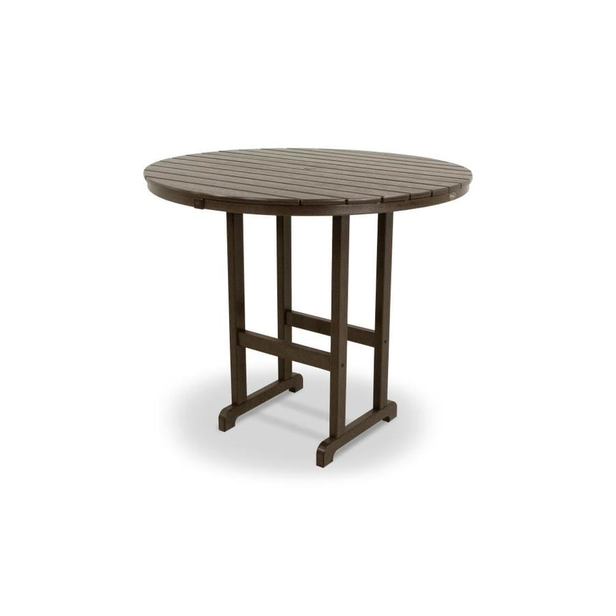 Trex Outdoor Furniture Monterey Bay Round Bar Height Table
