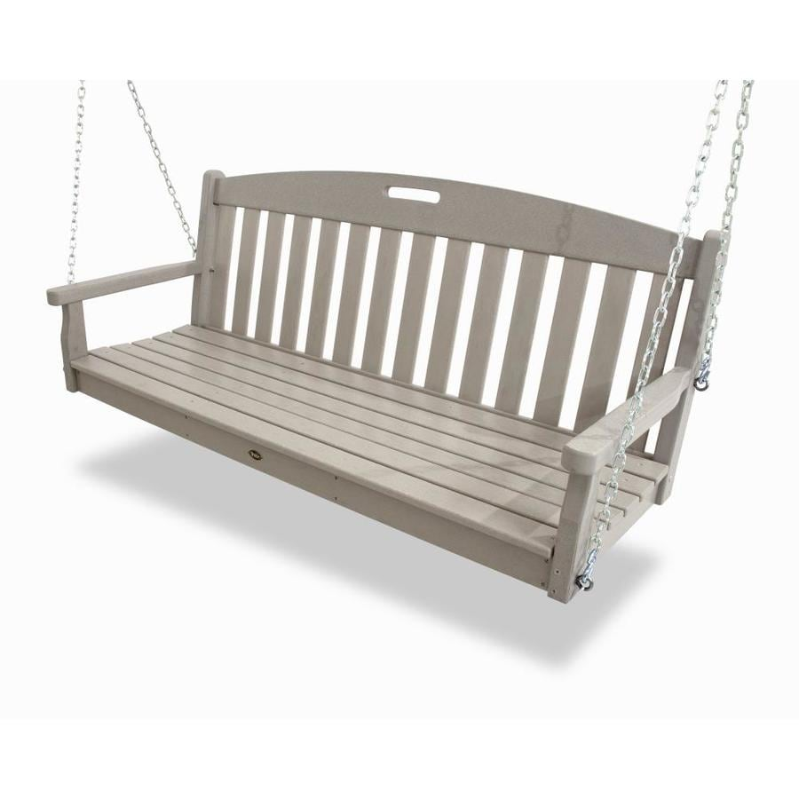 Trex Outdoor Furniture Yacht Club Sand Castle Porch Swing