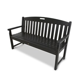 Trex Outdoor Furniture Yacht Club 59 5 In W X 24 25 L Charcoal Black