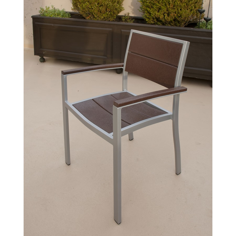Trex Outdoor Furniture Surf City  Aluminum Patio Dining Chair