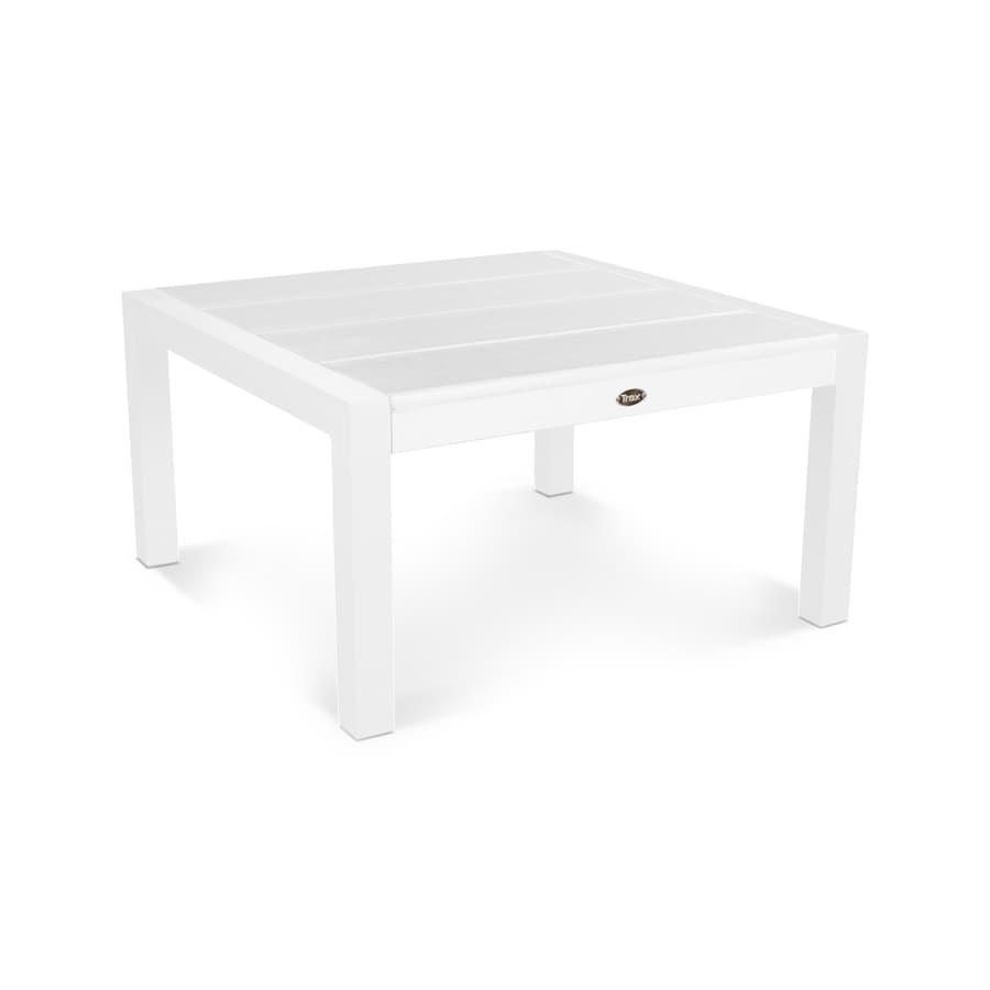 Trex Outdoor Furniture Surf City 29.75-in W x 29.75-in L Square Aluminum Dining Table