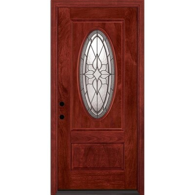 Feather River Red Front Doors At Lowes Com Find a stylish and durable door for your home as well as a variety of accessories at menards®. feather river red front doors at lowes com
