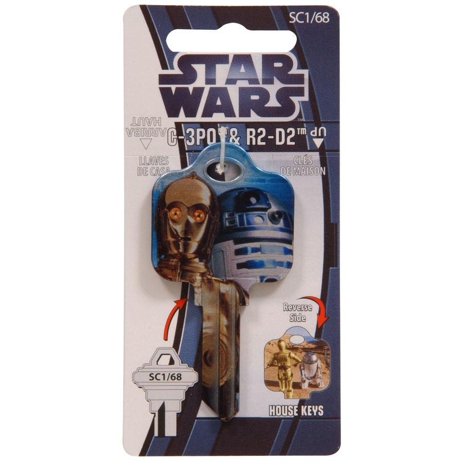 The Hillman Group 68 Starwars Key Blank