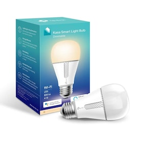 TP-Link Smart Wi-Fi LED Bulb with Dimmable White 60-Watt EQ A19 Soft White Dimmable Smart LED Light Bulb