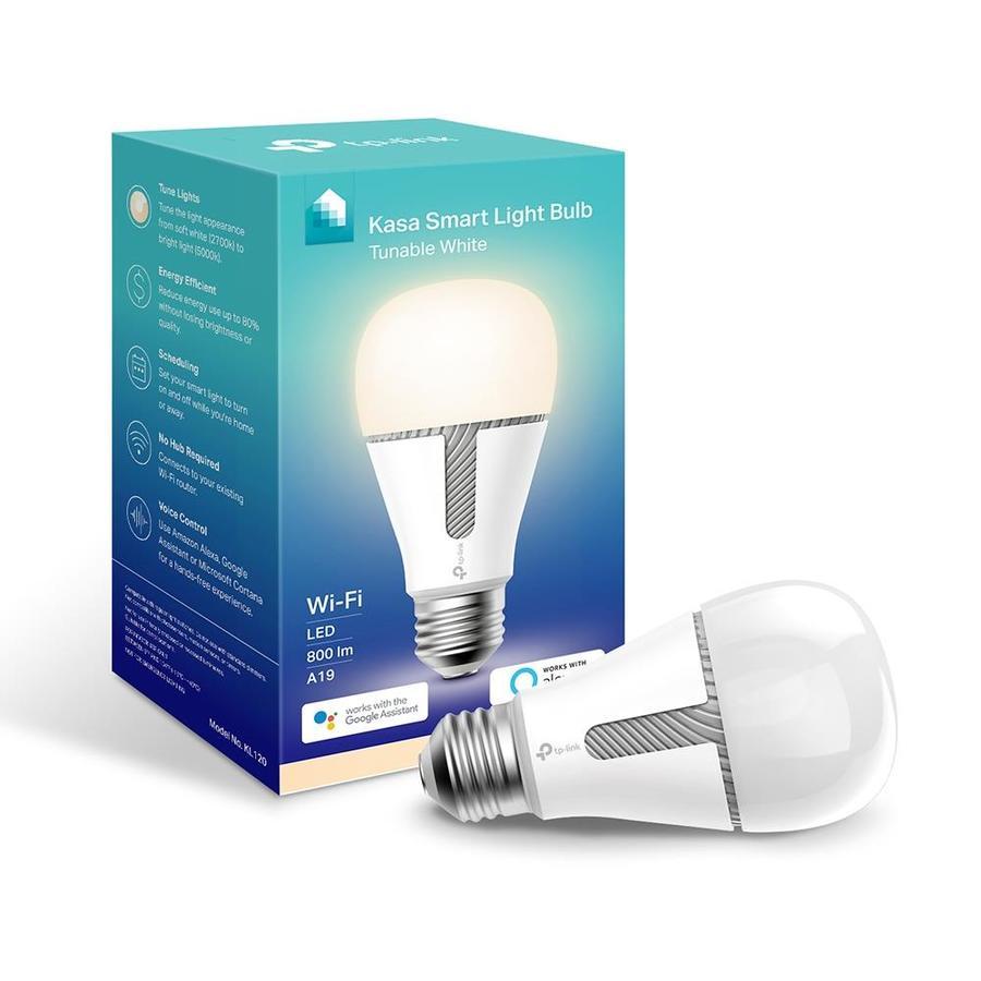 Tp Link Kasa Smart Light Bulb White Led Night Light At