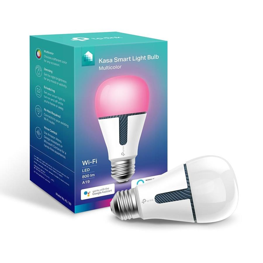 Tp Link Smart Wi Fi Color Changing 60 Watt Eq A19 Full